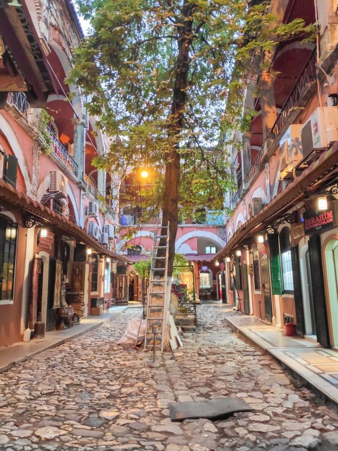 Patio en el Gran Bazar