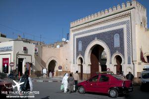 puerta azul medina fez