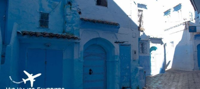 Chefchaouen, el paraíso azul de Marruecos.