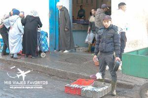 vendedor pescado