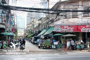 calle en Bangkok