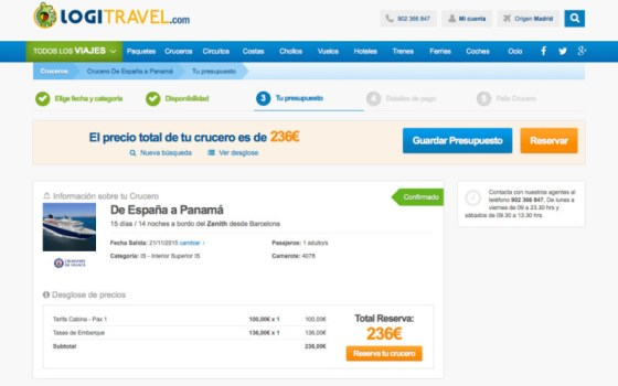 Mis viajes low cost - crucero a Panama