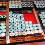 日本が誇るファーストフード、寿司ロール