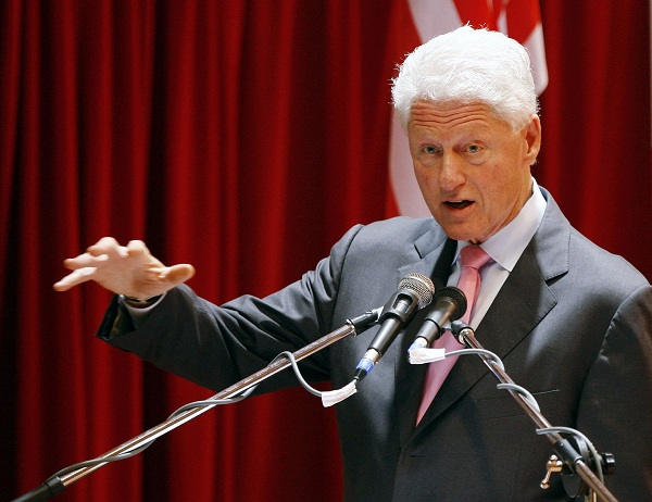Bill Clinton bans Twitter