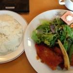 田村町木村屋で洋食ランチ