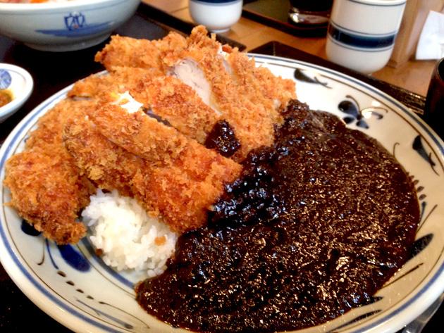 甲乙ヒカリ 鶏カツ坦々飯
