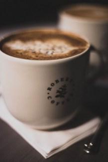 Kaffee im Robert's Coffee