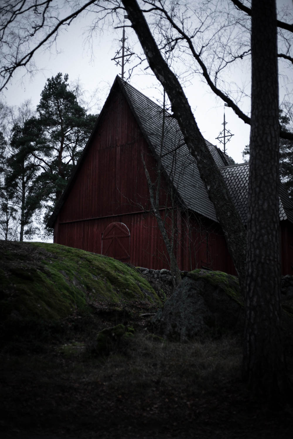 Kirche auf Seurasaari