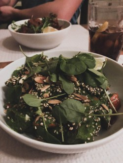 Grünes Curry im Café Tati