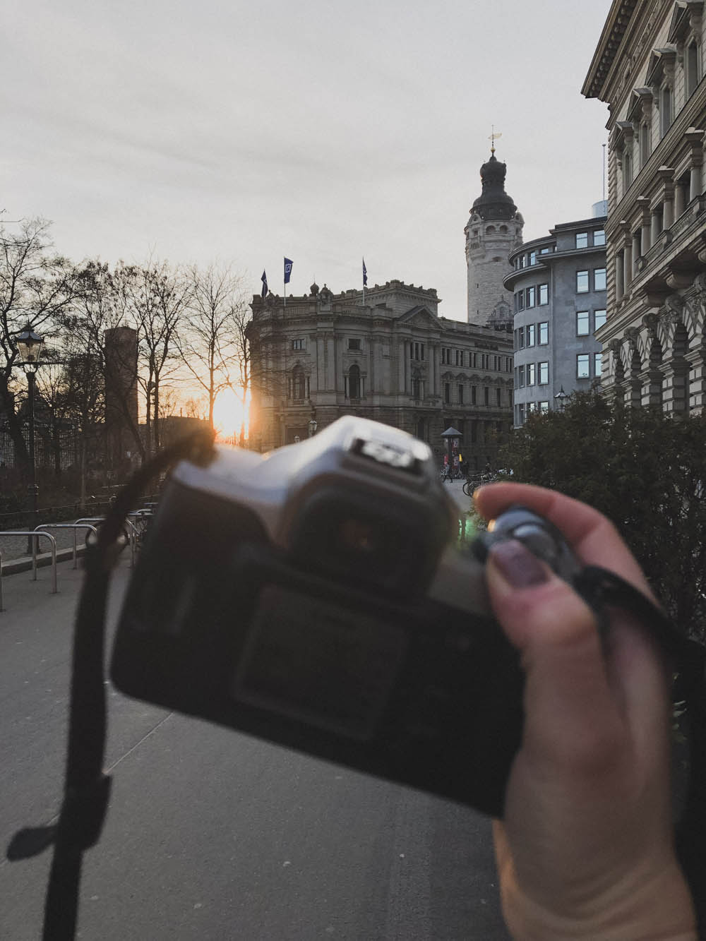 Fototour durch Leipzig