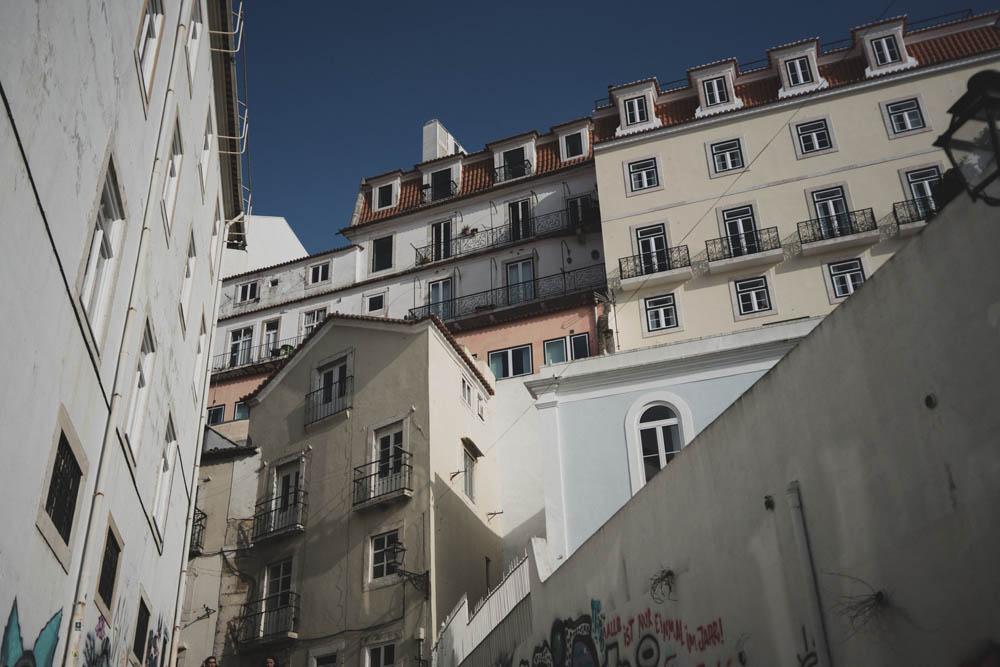 In den Gassen von Lissabon