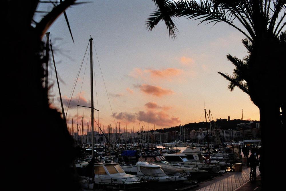 Sonnenuntergang in Palma