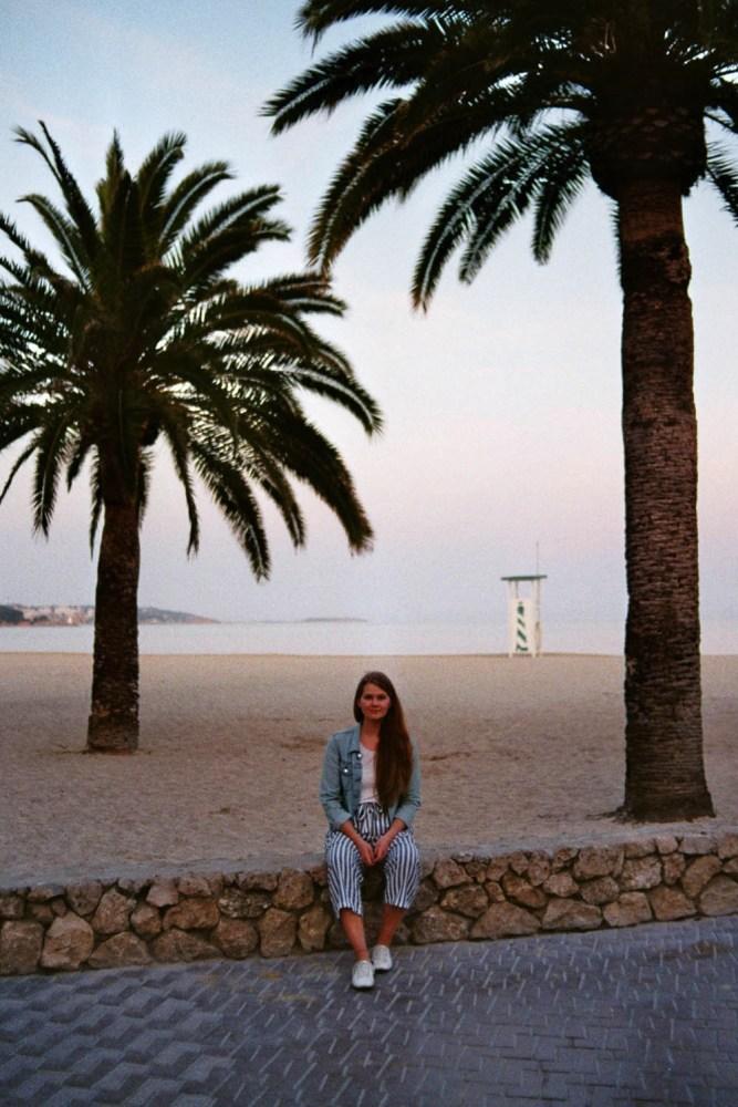 Am Strand von Palmanova