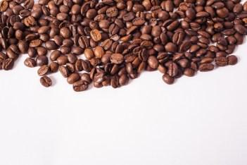 コーヒー豆上