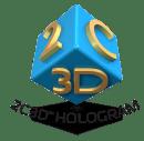 2C3D Logo