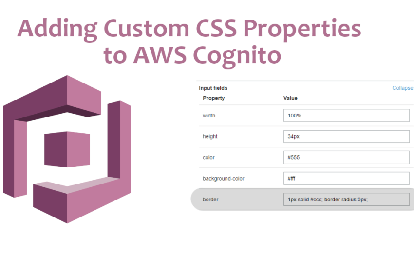 Adding Custom CSS Properties to AWS Cognito - Mitch Valenta