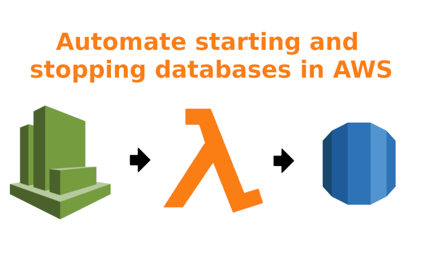 Automate starting and stopping databases in AWS
