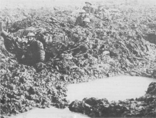 Conditions in the area of Poelcapelle, October 1917
