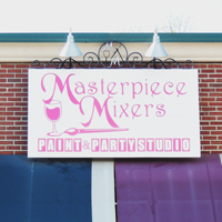 "Masterpiece Mixers ""Fun Art"" Franchise Opening in Johnson City"
