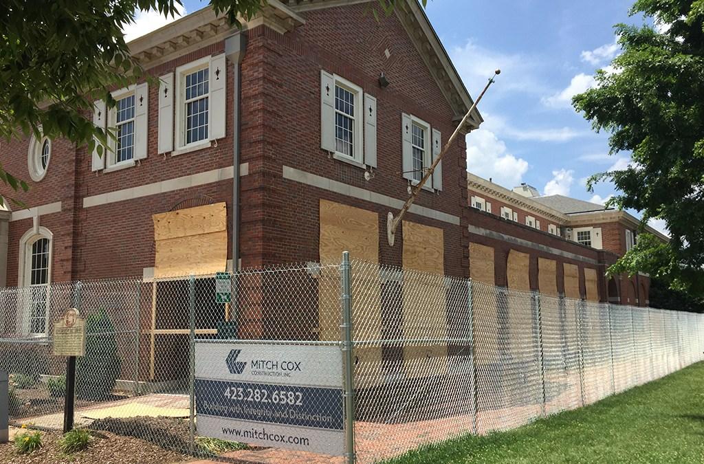 Mitch Cox Construction Renovates Historic Kingsport Library
