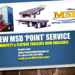 New MSD 'Point' Service Offering for customers : Moffetts and Flatbed Trailers (read more)