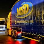 24 Hour // Night Trunking & Warehouse Operation // Cross dock with MSD  – Get in touch with us !