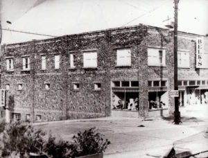 Belk in its second location on Oak Avenue (Upper Street) in the 1940s.