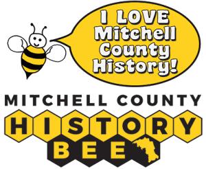 The Mitchell County History Bee Logo