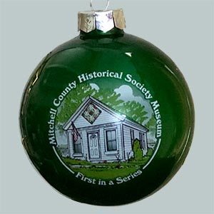 Photo of the McBee Mitchell County Historical Museum Ornament