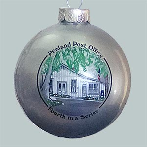 Photo of the Penland Post Office ornament