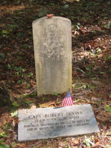 Photo of Robert Sevier's Grave