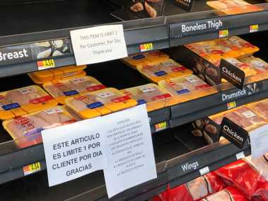 Photo of the Walmart Meat Counter