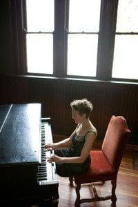 Composer/pianist Myra Melford. Photo Credit: Michael Wilson