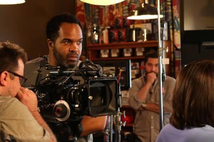 OTR10 - Camera operator Jason Young executes a shot