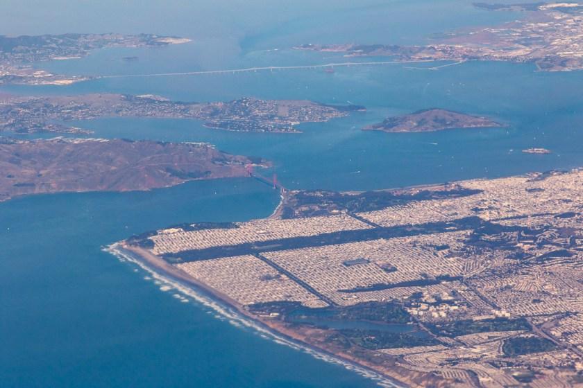 DEN-HNL photo San Francisco Bay Area 2