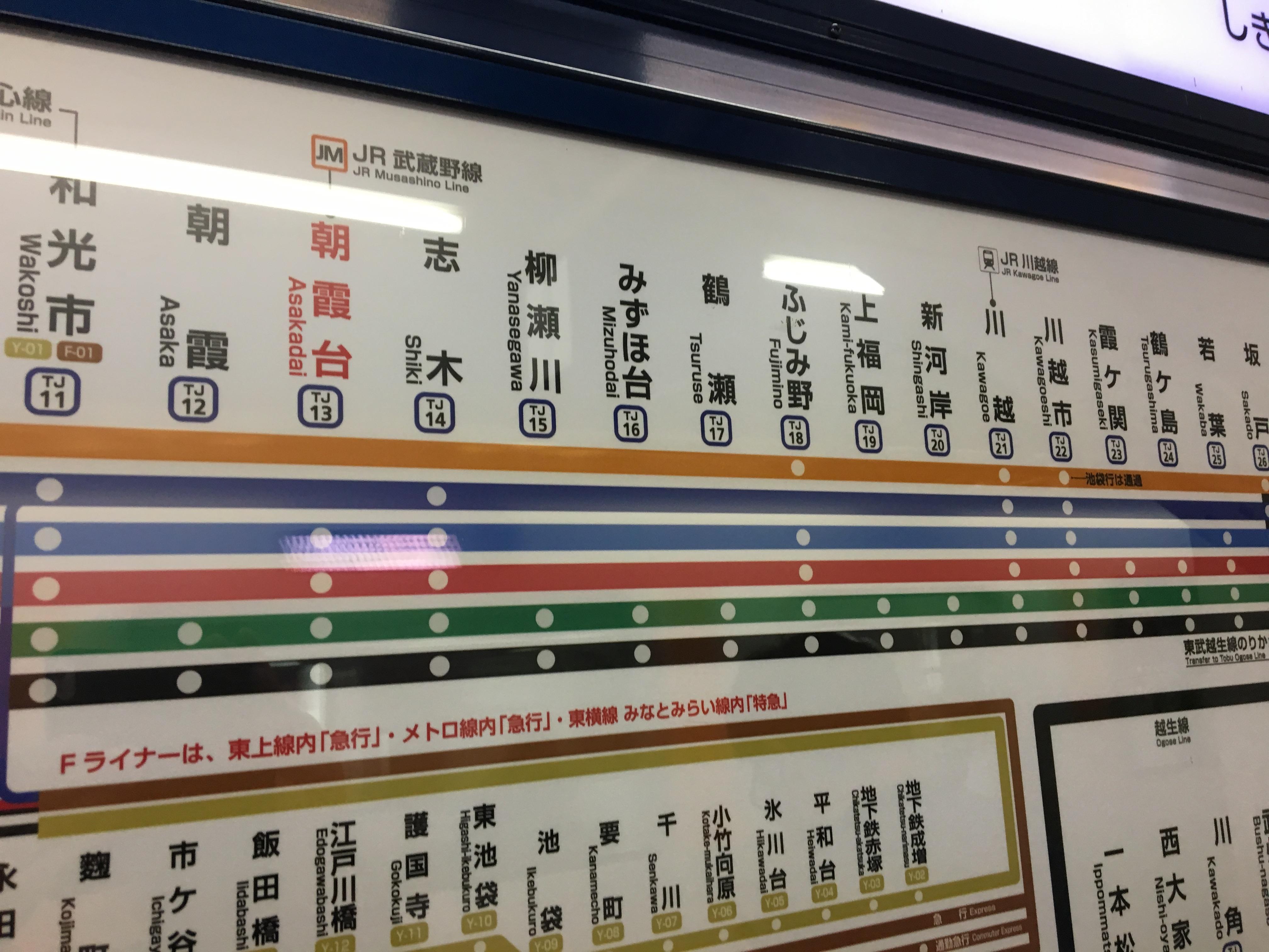 行ってみましたふじみ野市 その1 駅の名前にダマされるな!?