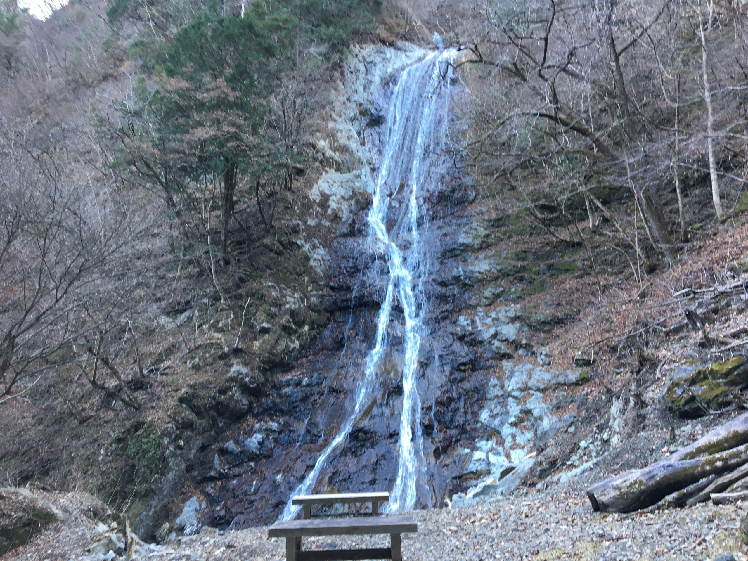 探索!冬の小鹿野町 その4 知る人ぞ知る滝・丸神の滝