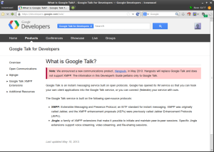 google-talk-developers