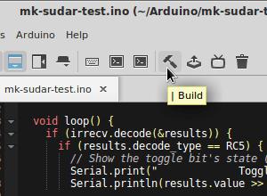 Komodo-edit with Arduino support