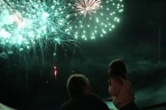 Fireworks at Morris County 4-H Fair, Chester, NJ