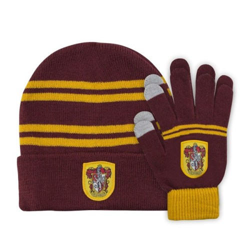 Cappello e Guanti Grifondoro Harry Potter