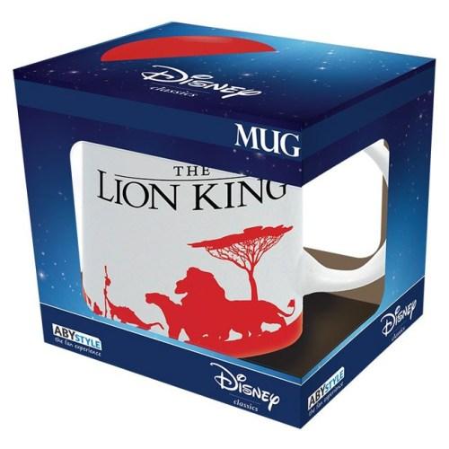 Tazza the lion King Disney scatola