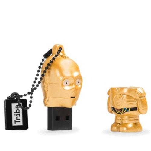 penna usb C-3PO Star Wars aperta