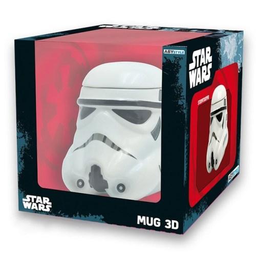 Tazza 3D Stormtrooper Star Wars scatola