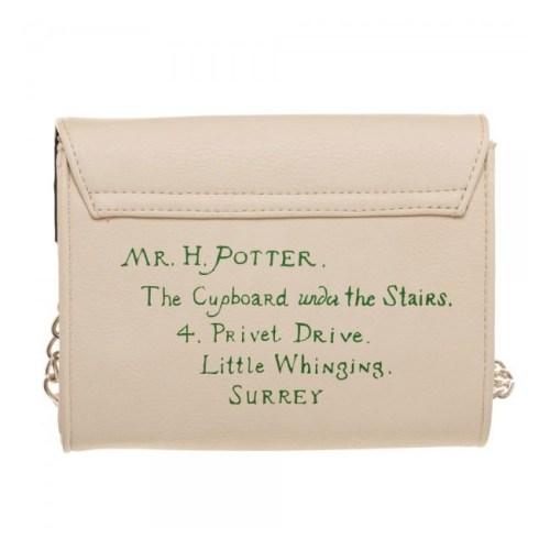 Borsa a Lettera di Hogwarts Harry Potter dettaglio retro