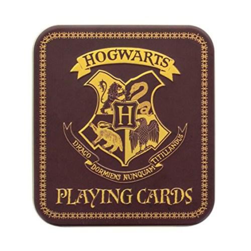carte da gioco hogwarts harry potter dettaglio scatola