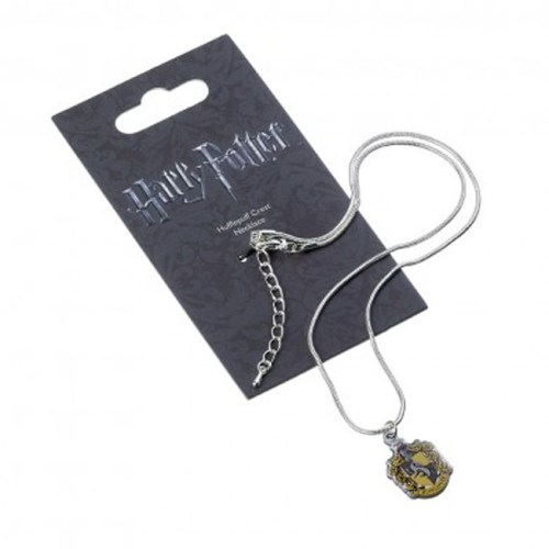 Collana con pendente di Tassorosso Harry Potter confezione