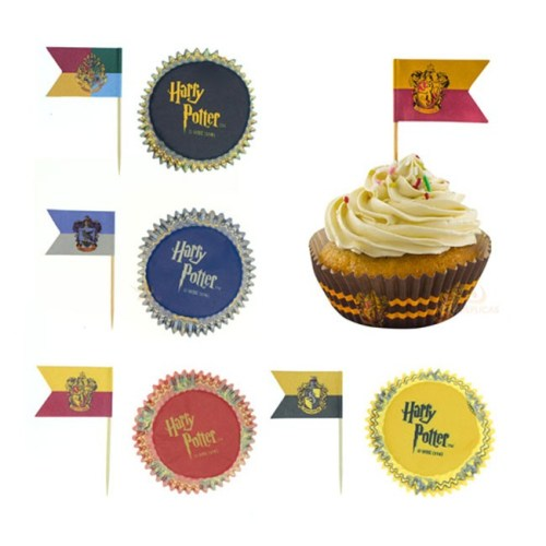 Pirottini per Cupcake Harry Potter