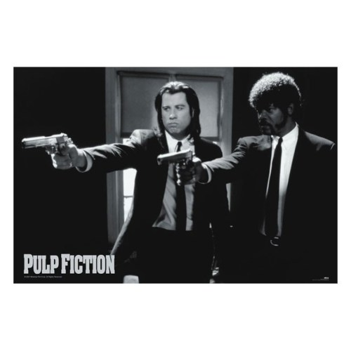 poster pulp fiction Vincent e Jules