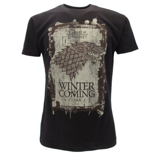 T-Shirt Game of Thrones Stark Winter is Coming